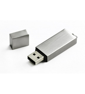 Metalowa pamięć USB 8GB  - 44036