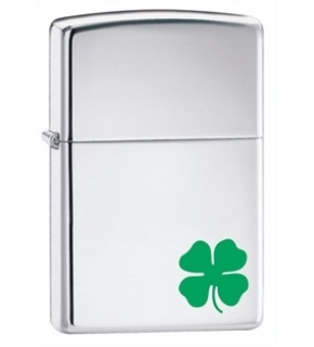 ZIPPO 24007 LUCK HIGH POLISH CHROME
