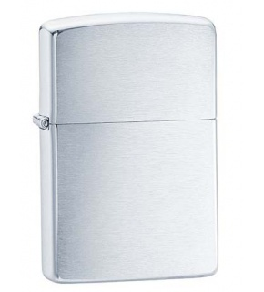 ZIPPO Z200 REGULAR BRUSH FINISH CHROME